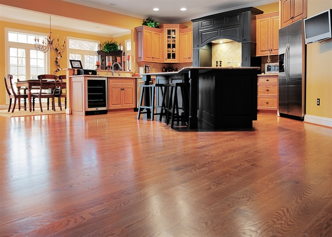 grass valley ca kitchen wood floor installations