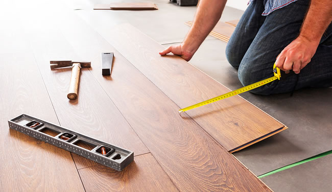 Engineered hardwood floors installation