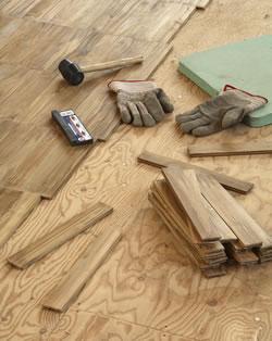 Wood Subfloor Preparation Grass Valley California