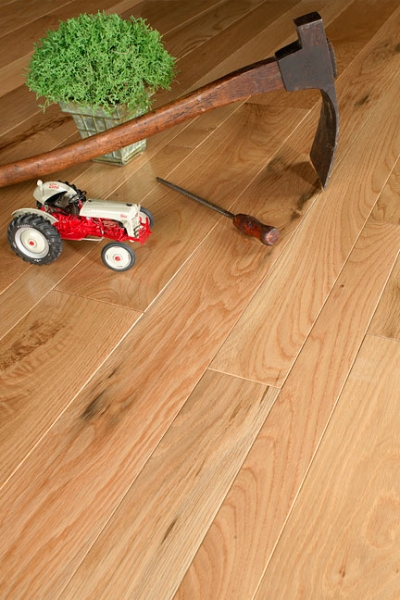 Prefinished Character White Oak
